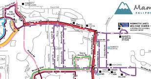Mammoth Map Purple Line U2013 Eastern Sierra Transit Authority