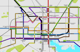 Map Of Baltimore Md Analyzing The Proposed Baltimorelink Transit Plan And Its Effect