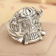 metal skeleton ring holder images 2018 drop ship movie jewelry punk ring the expendables lucky rings jpg