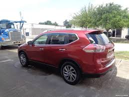 nissan rogue with rims 2015 nissan rogue sl for sale in houston tx stock 15140