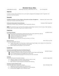exle management resume management resume