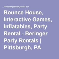 party rentals pittsburgh bounce house interactive inflatables party rental