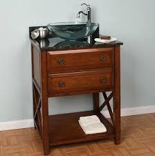 bath u003e bathroom vanities u003e worthington 24 inch oak bathroom vanity