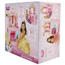 Pink Retro Kitchen Collection Amazon Com Disney Princess Royal 2 Sided Kitchen U0026 Caf Toys U0026 Games