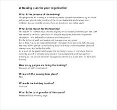 training proposal templates u2013 25 free sample example format