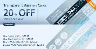 9 99 Business Cards Plastic Business Card Morningprint Blog