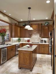 oak cabinets kitchen ideas i the tile and back splash in this kitchen i think that these