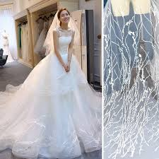 luxury wedding dresses white wedding dress lace fabric luxury wedding lace with