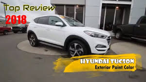 2018 hyundai tucson full review exterior colors and interior
