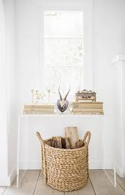 Entryway Baskets How To Style Your Home U0027s First Impression 1 Entryway 5 Ways