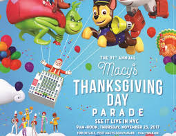 country line up for macy s thanksgiving day parade