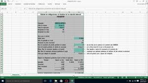 calculadora de finiquito en chile herramienta para calcular finiquito excel youtube