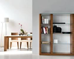 wood and glass bookcase find contemporary modular bookcase