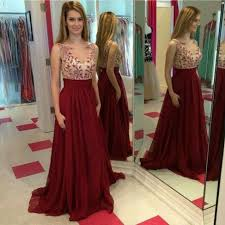 formal 2016 evening gowns elegant scoop neck celebrity cheap