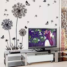 ussore wall sticker dandelion butterfly stickers removable mural