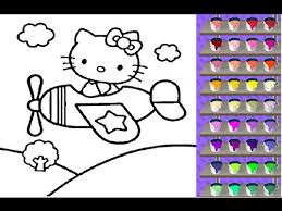 kitty coloring games free