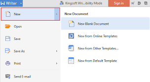 templates for wps office android how to create a new document in wps writer 2016