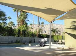 Backyard Shade Canopy by Shade Cloth Valley Patios Palm Desert La Quinta Indio