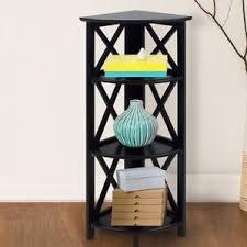 Iron Folding Bookcase Corner Bookcases You U0027ll Love Wayfair