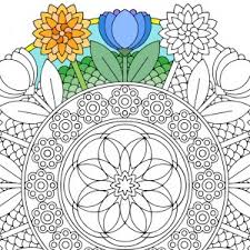 printable mandala coloring pages candy hippie coloring