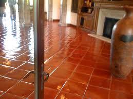 spanish floor spanish mission red terracotta floor tile tile flooring ideas