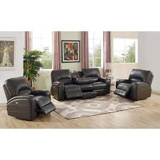 Leather Power Reclining Sofa Pulaski Springfield Power Reclining Sectional Image On Marvellous