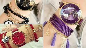fashion bracelet designs images Latest designer watch bracelet designs for girls stylish jpg