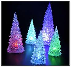 led color changing tree lights