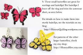 how to paper quilled butterflies guest post ted s