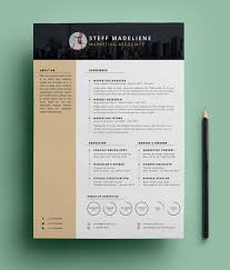 free resume template 20 free cv resume templates psd mockups freebies graphic
