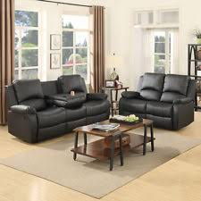 black leather couch sofas loveseats u0026 chaises ebay