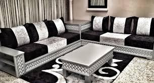 salon marocain canapé incroyable canapé marocain moderne salon marocain blanc et noir le