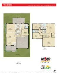 Harmony Floor by Bimini At Harmony Brevard County Home Builder Lifestyle Homes