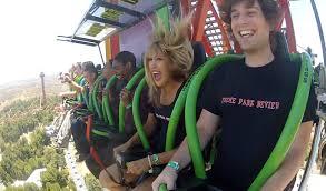 Six Flags Ma Lex Luthor Drop Of Doom World U0027s Tallest Drop Ride Rider Pov Six