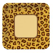 cheetah print party supplies animal prints leopard tableware party supplies discontinued