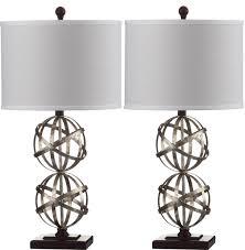 Antique Double Desk Lamp Lit4321a Set2 Table Lamps Lighting By Safavieh
