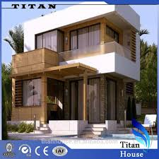 Earthquake Proof House Project Flat Roof Earthquake Proof Modular Prefabricated Small House Design