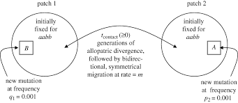 conditions for mutation order speciation proceedings of the