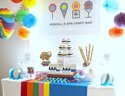 candy for birthdays spa candy birthday kendall s spa candy bar birthday