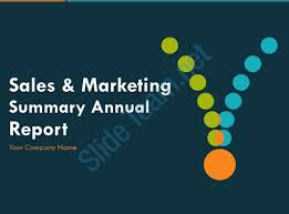 annual report ppt template sales and marketing summary annual report powerpoint presentation