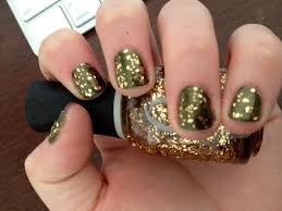 best gold flake nail polish photos 2017 u2013 blue maize