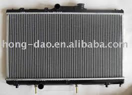 plastic aluminum radiator for toyota corolla plastic aluminum