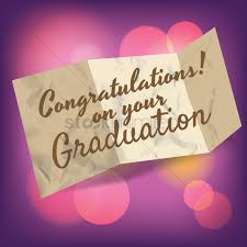 congratulations on your graduation greeting vector image 1609906
