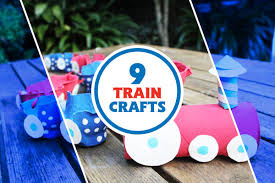 these fun train crafts are perfect for a rainy day u2014or any day