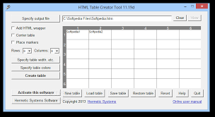 design a html table download html table creator tool 12 00