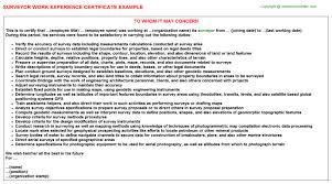 quantity surveyor resume cover letter