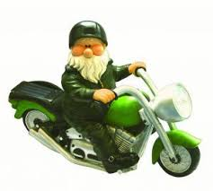 28 best biker garden gnomes images on biker gnomes