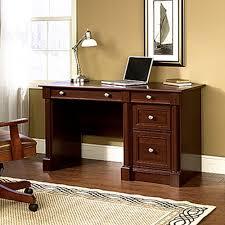 Corner Desks With Storage Sauder Beginnings Cinnamon Cherry Desk With Storage 413073 The