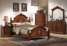 caramel finish elegant antique bedroom w arched shape bed