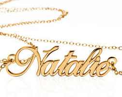 necklace with your name custom name necklace etsy